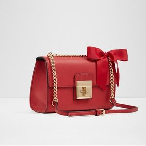 Aldo Red Crossbody with Bow